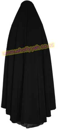 Membuat Jilbab Bundar